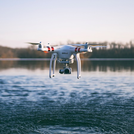 team building con drones
