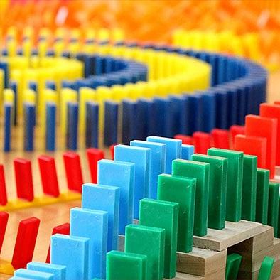 actividad empresas madrid domino
